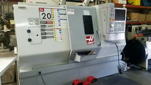 2008 Haas Sl 20t Cnc Lathe Full C Axis Live Tooling Tailstock Parts Catcher Macr