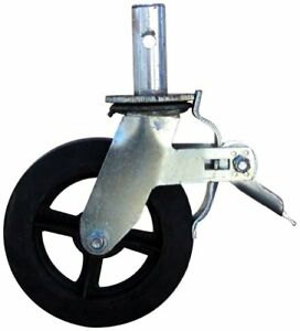 Buffalo Tools Gsc8 8 inch Caster With Foot Brake For Gsf55 Scaffold Frame