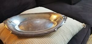 Wilcox International Silver Company 7119 Oval Platter Free Shipping