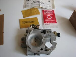 New Nos Delco Front Throttle Body Kit Fuel Injection Tbi 82 84 Corvette 17079716