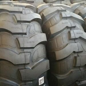 2 tires Rw 21l 24 12 Ply R4 Rear Backhoe Industrial Tractor Tires 21lx24 21l24