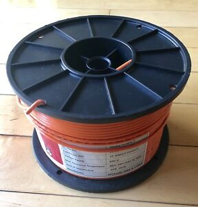 500 Ft Thhn thwn Wire 12 Awg Stranded 600 Volt orange