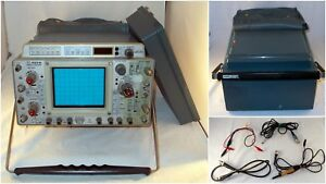 Tektronix 465b 100mhz Dual Trace Oscilloscope With Dual Time bases Extras