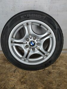 Front Right Or Left M Double Spoke Style 68 Alloy Rim Wheel Oem Bmw E46 4