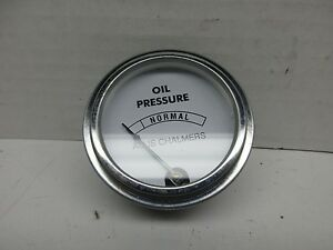 Reproduction Allis Chalmers B C Oil Pressure Gauge 207834 70203805 70207834