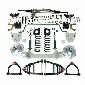 1947 1954 Chevy Pickup Truck Mustang Ii Complete Front End Suspension Ifs Kit