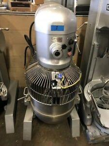 Hobart H600t 60 Qt Mixer With Attachments 200v 3ph 2hp
