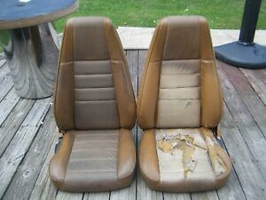 1970 S Pair Of Bucket Seats Mustang