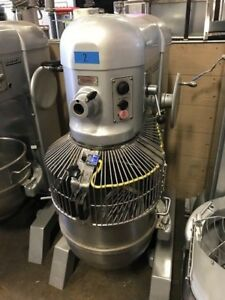 Hobart H600t 60 Qt Mixer With Attachments 230v 1ph 2hp