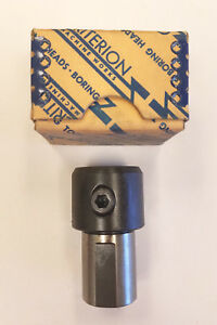 Criterion 3 4 X 1 X 2 13 32 Length Boring Bar Holder And Adapter 9b e0070