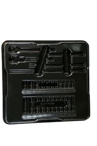 Snap on Tools 1 4 Metric 29pc General Service Socket Tray Only Black Pakty455
