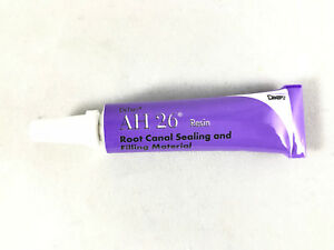 Dentsply Ah 26 Root Canal Sealer Material 10g Resin Only fda