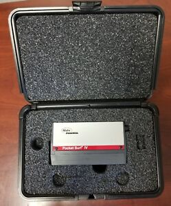 Mahr Federal Pocket Surf Iv Surface Finish roughness tester profilometer In Case