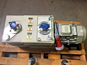 Ulvac Vdn601 Oil Sealed Rotary Vacuum Pump manufactured In 2014