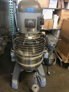 Hobart Legacy Hl600 60 Qt Mixer With Attachments 200 240v 1 3ph