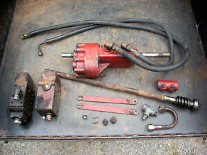 Ih Farmall Mccormick 400 450 300 350 Factory Power Steering Complete Setup