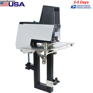 Dual use Electric Flat Saddle Stapler Stapling Machine Binder With Foot Pedal