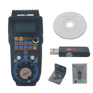Cnc Mach3 Wireless Electronic Handwheel 4 axis Manual Controller Usb Handle Mpg