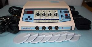 Physiotherapy Massager Electrotherapy Digital Machine 4 Channel Therapy Unit
