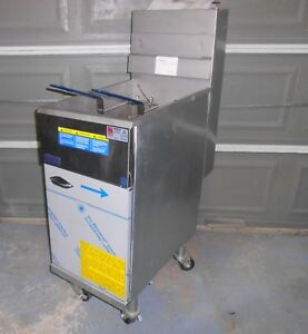 New Pitco 40d 40 Lb Capacity Gas Deep Fryer With Locking Wheels Manual
