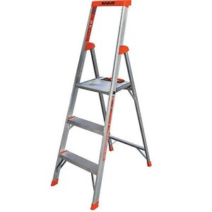 Ladder Aluminum Folding Step Ladder Little Giant Ladder Flip n lite M5 3 Steps