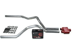 Dodge Ram 1500 Truck 09 18 2 5 Dual Truck Exhaust Kits Cherry Bomb Extreme