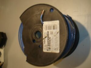 New 500 Ft Solid Blue 12 Gauge Copper Thhn Wire Old Stock