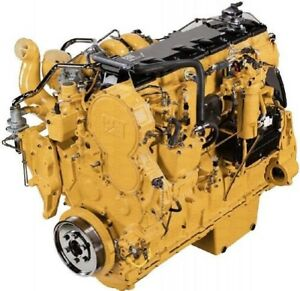 Cat 3406e 14 6 Liter Diesel Engine 430hp All Complete And Run Tested