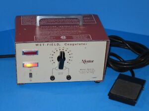 Codman Mentor Wet field Coagulator Model 440e With Foot Switch