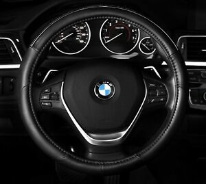 Steering Wheel Cover Black Chrome Silver Brand New Fits 14 5 15 5 M