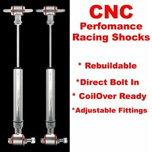 1964 1967 Chevrolet Chevelle Rear Performance Shocks Pair Hotrod Drag Race