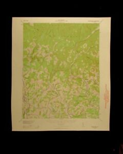 Neversink New York 1959 Vintage Usgs Topographical Chart Map