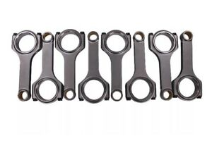 H Beam 6 385 2 200 990 Bronze Bush 4340 Connecting Rods Fit Chevy Bbc 454