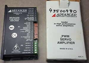 Advanced Motion Controls Be15a8e Brushless Pwm Servo Amplifier