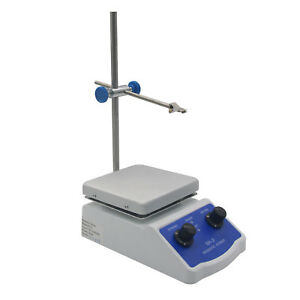 2000ml Hot Plate Magnetic Stirrer Dual Control 1 Inch Stir Bar For Laboratory