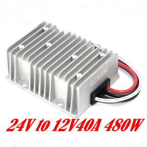 New Dc Converter 24v To 12v 40a 480w Step down Buck Power Supply Module Car