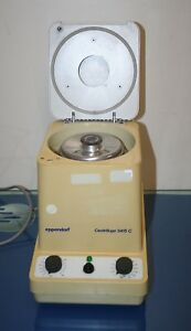 Eppendorf Centrifuge 5415c With 18 Place Rotor 14 000 Rpm Working 2
