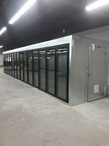 15 Door Walk In Cooler installed But Never Used Must Read Description