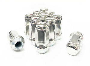 32x 14x1 5 Stainless Steel Lug Nuts 2 32 Tall Extra Long Ford Chevy Dodge Gmc