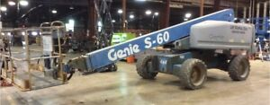 2005 Genie S60 60 Boom Man Lift Aerial Platform S 60 4x4 66 Working Height