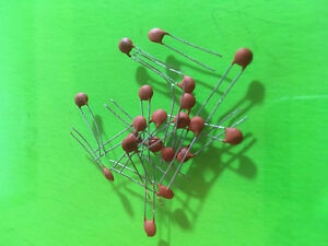 5 Pieces 50v Ceramic Capacitor Multiple Values Available Pick 1pf 100nf Usa