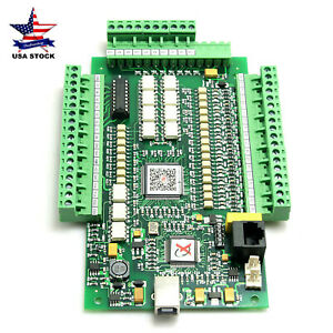 3 Axis Usbcnc Mach3 Stepper Motor Controller 0 10v Breakout Board For Cnc
