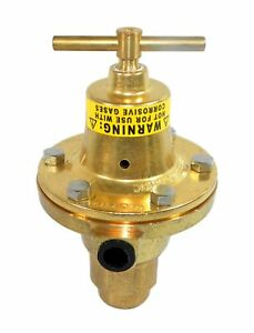 Meco Victor 5641 8464 Pressure Regulator 5500psi In 125psi Out W Tee Handle