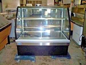 Refrigerated Curved Glass Deli Case