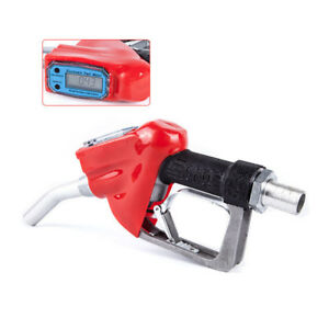 New Fuel Gun Digital Flow Fuel Delivery Gun Us Nozzle Dispenser