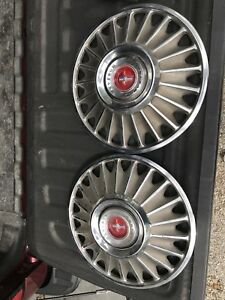 1967 Ford Mustang Stock 14 Hubcaps Rims Tires Set Of 4