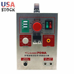 2 In 1 1 9kw Spot Welder Soldering Iron Staion 709a Battery Welding Machine 60a