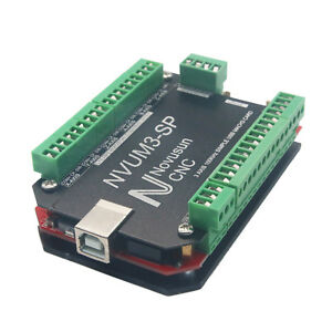 Usb Mach3 Interface Board Card 3 Axis Controller Cnc For Stepper Motor Nvum3 sp