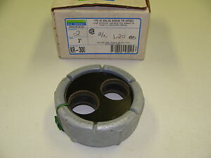 O z Gedney 3 2 Wire 1 2 Od Insulated Cable Type Kr 300 Sealing Bushing Gasket