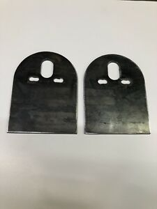 2 Universal Upper Air Bag D Plate Brackets Air Bags Air Ride Suspension